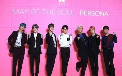 Korean pop sensation BTS go to top of UK album charts