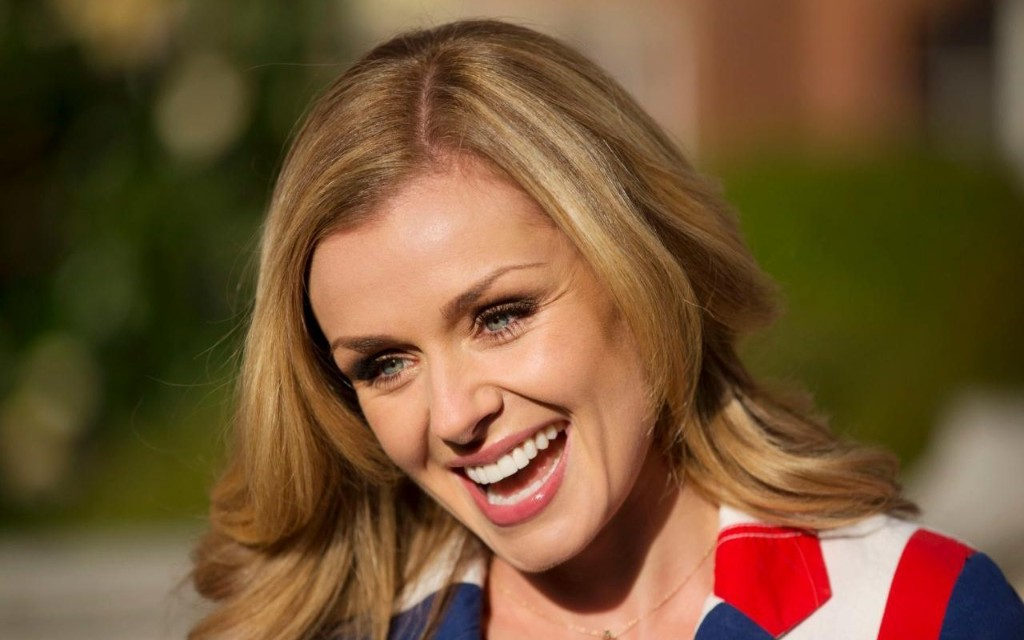 I started work soon after giving birth to be good role model for my daughter, says Katherine Jenkins
