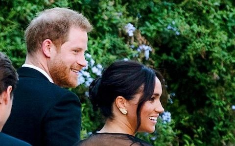 Duchess of Sussex wears £5 borrowed earrings to lavish Rome wedding