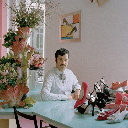 The fairy-tale world of Roger Vivier's dashing designer, Gherardo Felloni