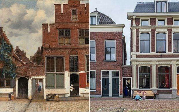 Big search finds Vermeer's 'Little Street'
