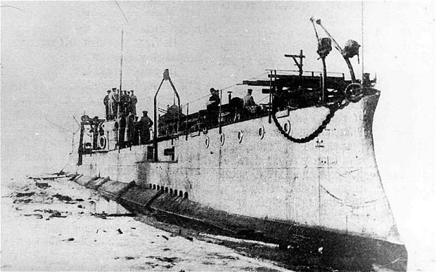 Tsar's 'Shark' submarine discovered beneath the Baltic Sea