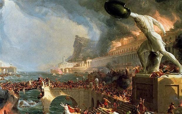 Did American volcanoes trigger fall of Roman Empire?