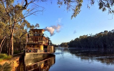 A cruise into a bygone era on Australia's Murray River