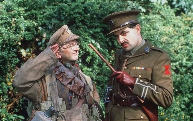 Blame Baldrick for our view of Great War, says defence minister