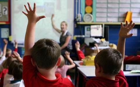 A third of new teachers quit the job within five years