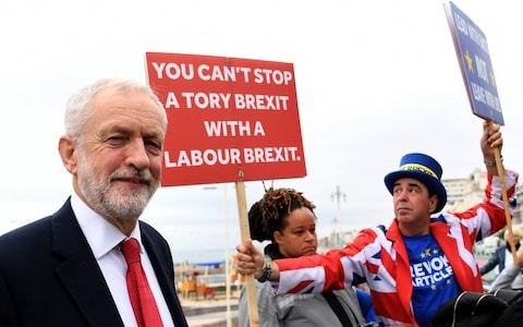 At last we know what Jeremy Corbyn thinks of Brexit: whatever Labour members tell him to think