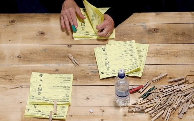 Opinion polls failure at 2015 election 'due to unrepresentative samples'