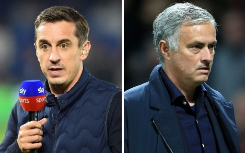 Gary Neville calls Manchester United 'rotten to the core' as board backs Jose Mourinho