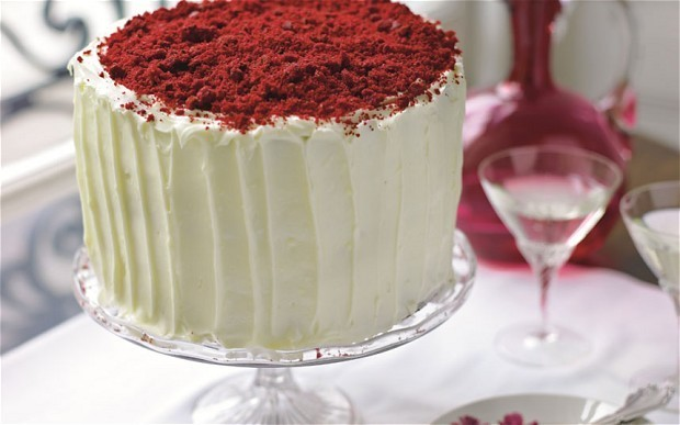 Stacie Stewart's red velvet cake recipe