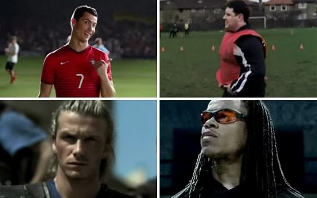 The greatest football adverts of all time