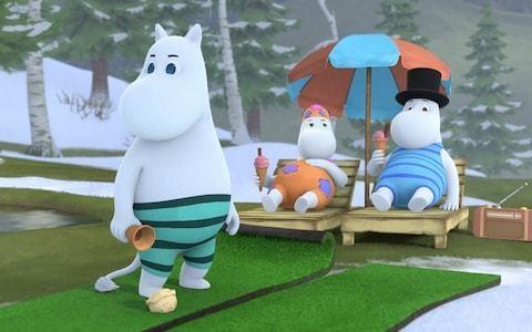 Jennifer Saunders and Taron Egerton on bringing the Moomins back to TV