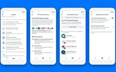 Facebook will finally let you 'clear' the data it collects on you – but it won't actually delete anything