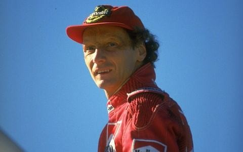 Niki Lauda, like Dad, was self-assured, driven, a racer to the core