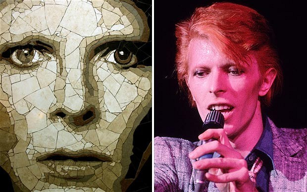 Mosaic marks Bowie's 65th birthday