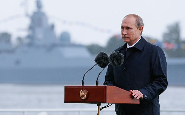 Putin eyes Russian strength in Atlantic and Arctic in new naval doctrine