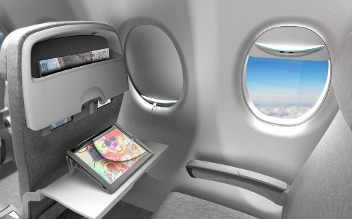 The plane window that could charge your mobile phone