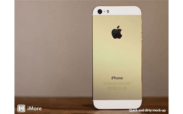 Apple iPhone 5S: 'new champagne gold colour coming'