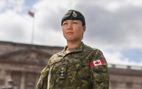 History made with first woman in the infantry to captain Queen's guard