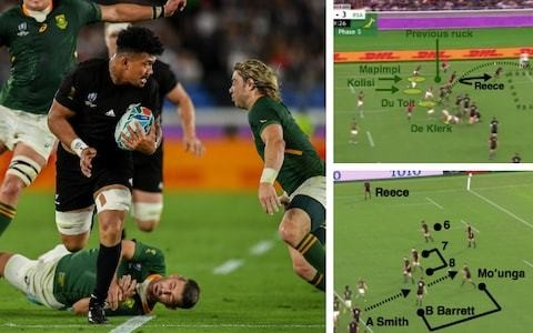 How the All Blacks stunned South Africa with a five-minute blitz of sublime attack