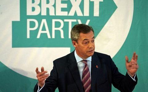 Nigel Farage looked like a man who knows he's beaten – but still won't admit it