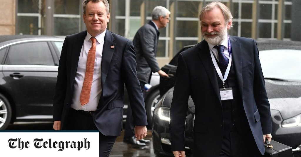 UK chief negotiator rules out fish for financial services Brexit deal