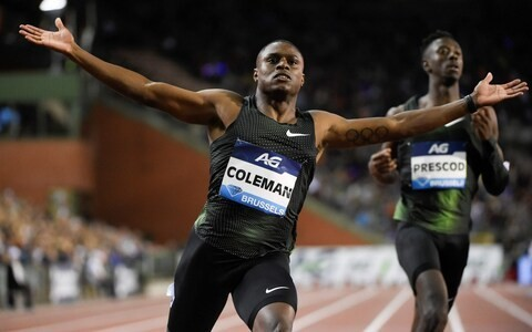Christian Coleman aiming to race at World Championships despite 'missing three drug tests'