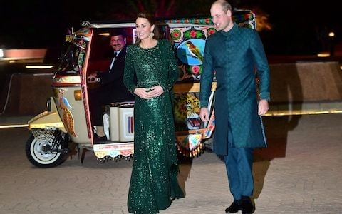 Prince William breaks rank and becomes the first British royal to don a traditional sherwani