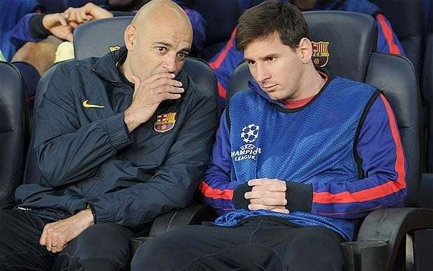 Lionel Messi not injured, insists Barcelona's Tito Vilanova, as striker fails to come on during defeat to Bayern Munich