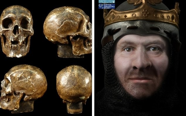 Face of Robert The Bruce reconstructed showing Scottish king had leprosy