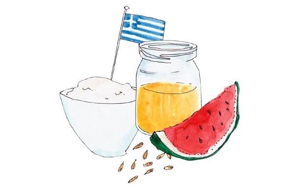 Strained yogurt? Greece is the word