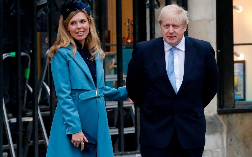 Carrie Symonds receives support from the Queen after Boris Johnson admitted to intensive care