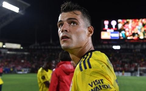 Granit Xhaka urges Arsenal's players to show more leadership: 'We all have to be captains on the pitch'