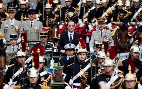 Bastille Day celebrations on the Champs-Élysées in Paris, in pictures