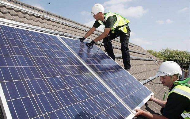 Solar panels on half a million homes by end of the year