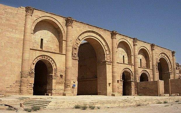 Isil terrorists vandalise another ancient city in northern Iraq