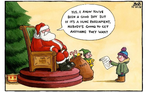 Telegraph cartoons - December 2019