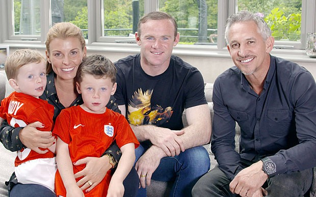 Wayne Rooney: My sons had to be born in Liverpool rather than Manchester