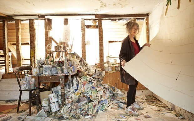 Rose Wylie: 'I don't like arty'