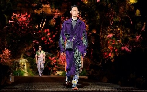 Dolce & Gabbana men's spring/summer 2020: cocktail hour in the tropics