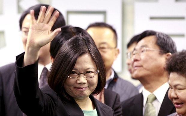 China sends warning to Taiwan as it prepares to elect first woman president