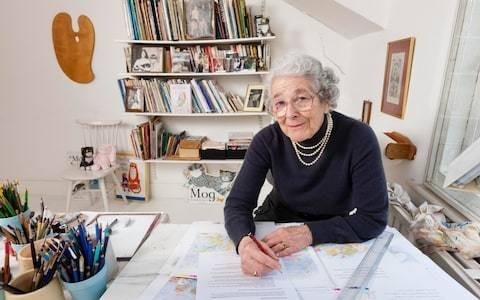 Judith Kerr, author of the 'Mog' books, 'The Tiger Who Came to Tea' and 'When Hitler Stole Pink Rabbit', a fictionalised account of her family's escape from Nazi Germany – obituary