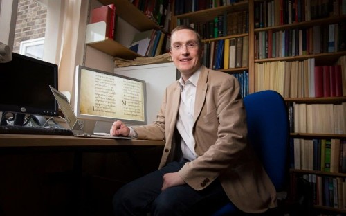 'Don't take the Bible literally' says scholar who brought to light earliest Latin analysis of the Gospels