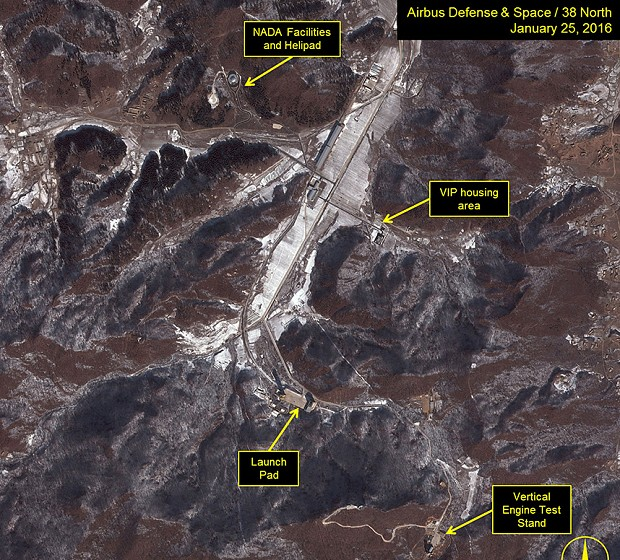 North Korea satellite images suggest possible space launch