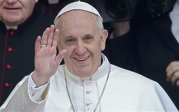 Pope Francis urges global leaders to end 'tyranny' of money