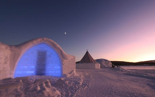 'I'd only made a snowman before' – meet the British father-daughter team behind this year's Icehotel