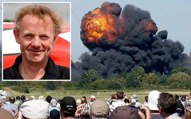 Shoreham crash pilot Andy Hill 'was involved in another air incident a year earlier'