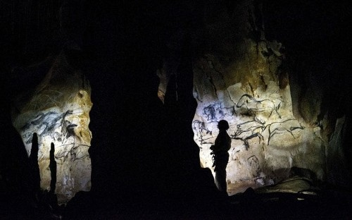 Chauvet-Pont-d'Arc Cave, France: see how Stone Age man mastered the art