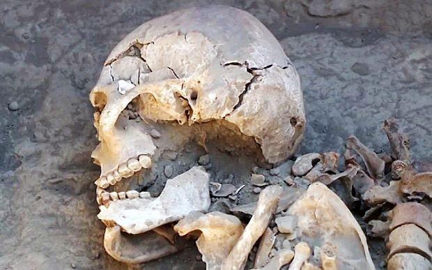 Ancient 'warrior princess' skeleton found in Kazakhstan