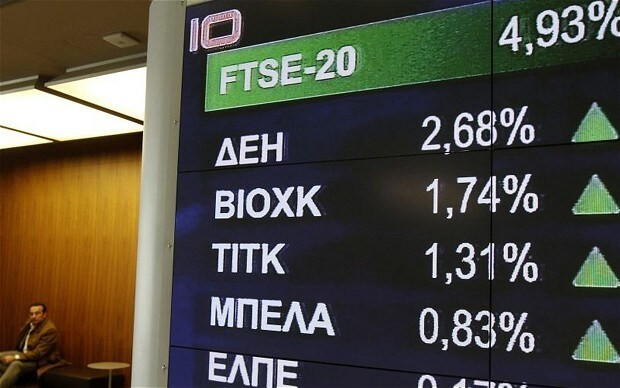 I'm buying Greek shares (even though the Athens stock market is shut)